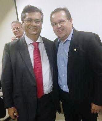 Rezende com Flávio Dino