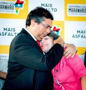 Flávio Dino e Simone Limeira: proteção total