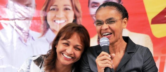 A entrada de Eliziane na Rede, de Marina Silva, abriu portas no PT