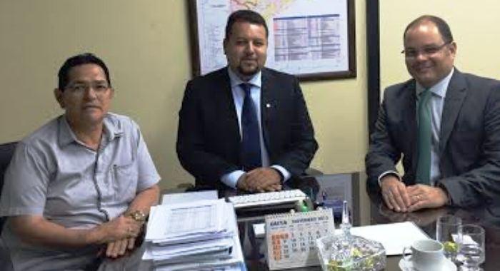 Amaury com Noleto e Rogério Cafeteira
