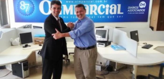 Thiago Diaz e Charles Dias fortaleceram a oposição com aliança