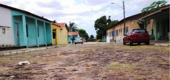As ruas de pedra do Bonfim estão abandonadas pelo poder público