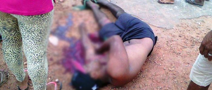 O corpo de Fagner dos Santos, morto em ação mal planejada da PM