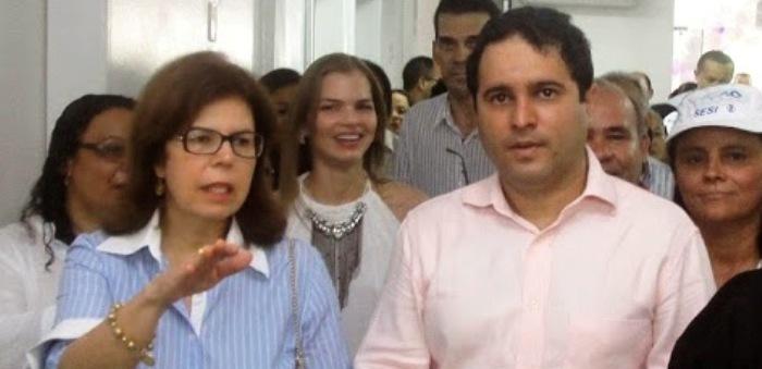 """Helena Duailibe é a represnetante do PMDB """"sarneysista"""" na gestão de Holandinha;  pode até ser vice dele"""