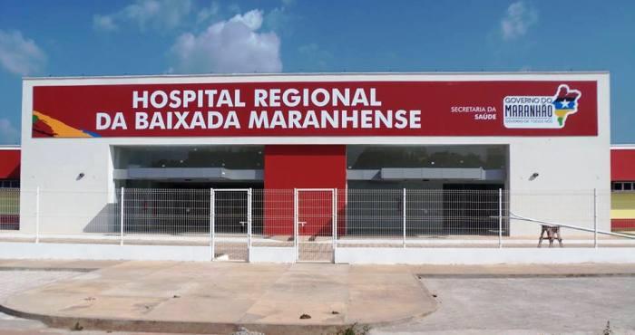 O hospital de Pinheiro: todo construído no governo Roseana