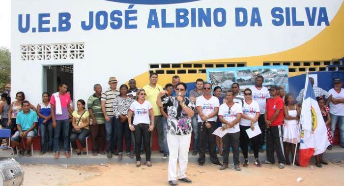 Prefeito Amaury e lideranças politicas