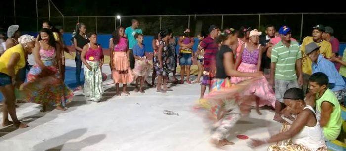 Encontro dos Tambores de Crioula para encerramento do evento Mirinzal é Mais Santiago