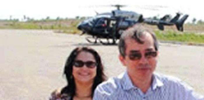 Marcos Pacheco e o helicóptero que ele disse não usar