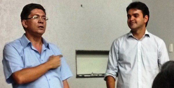 Portela com Rubens Júnior: de panfleteiro a secretário por opção do PCdoB