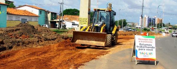 Máquinas na transformação do retorno do Bacanga: melhoria no trânsito