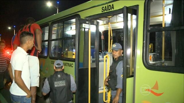 Os assaltos a ônibus são os crimes que mais cresceram no governo Flávo Dino