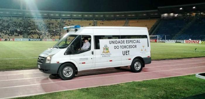 A Van da UET vai estar disponível durante os jogos