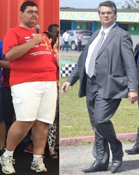 Mário macieira e Flávio Dino: principais derrotados