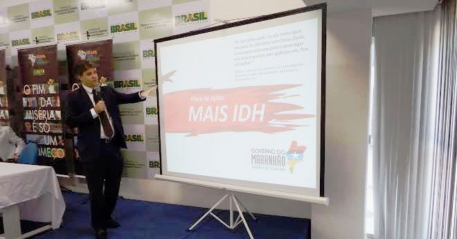 """Neto Evanelsita explana aos colegas do país os projetos do """"Mais IDH"""""""