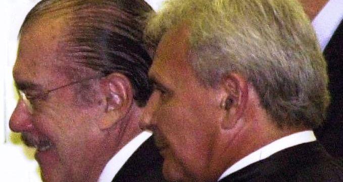 Sarney com Vidigal: rompimento unilateral do ex-ministro