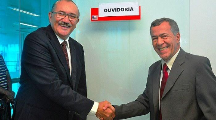 César Pire e Carlos Alberto Ferreira: ouvidoria como canal com a população