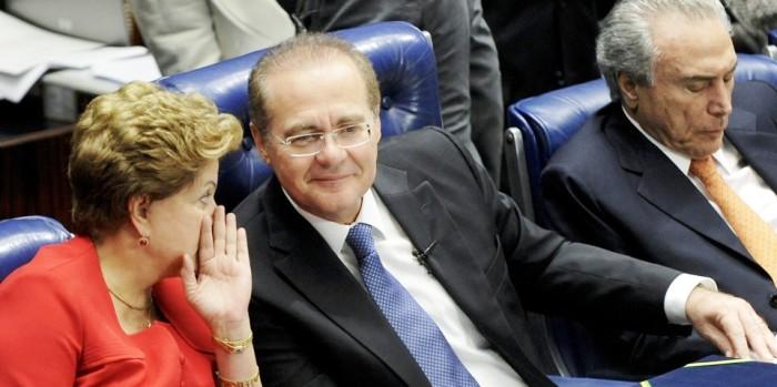 Além de garantir apoio de Renan, Dilma conseguiu isolar Michel Temer no PMDB
