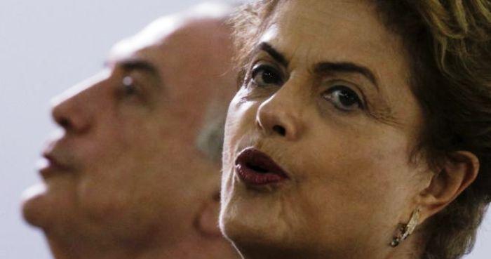 Biquinho do amor: com a ajuda de aliados, Dilma conseguiu isolar Temer no PMDB