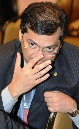 16/06/2010. Crédito: Carlos Moura/CB/D.A Press. Brasil. Brasília - DF. Deputado federal Flávio Dino durante Convenção Eleitoral Nacional do Partido Comunista do Brasil - PCdoB no Centro de Eventos e Convenções Brasil 21.