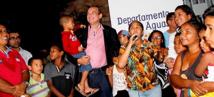Moradora reconhece ação do prefeito e agradece em nome da comunidade
