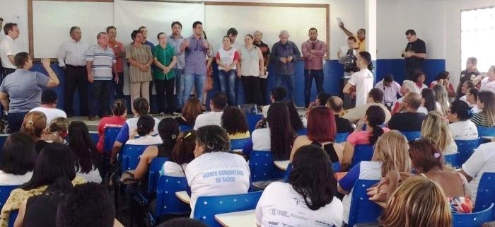 Gil Cutrim lançou a campanha municipal de combate a dengue, zika vírus e febre chikungunya.