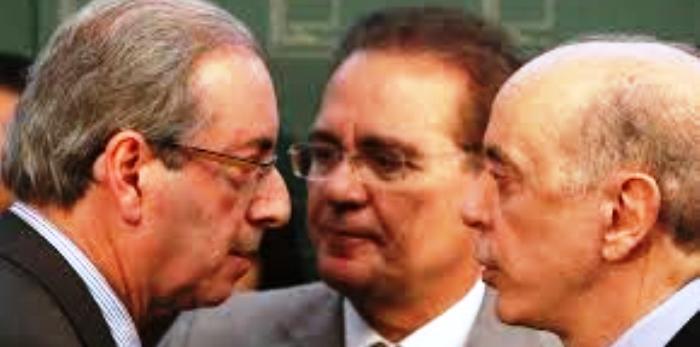 """Serra com os líderes do Congresso: potencial """"primeiro ministro"""""""
