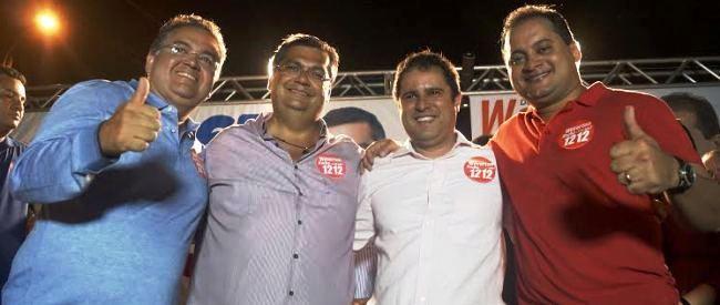Roberto, Flávio, Edivaldo e Weverton: 2016 com os olhos voltados para 2018