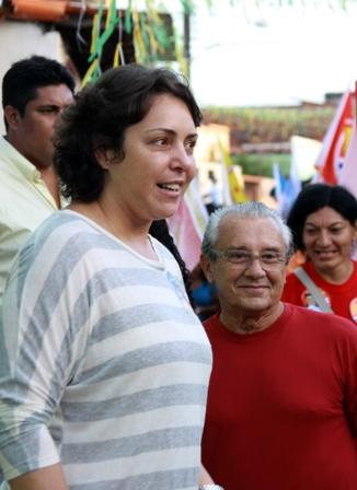 Alexandra e José Reinaldo comandaram o esquema
