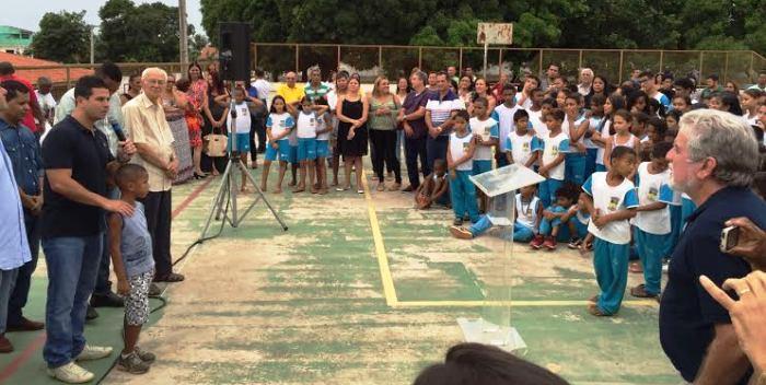 O lançamento do programa atraiu grande público