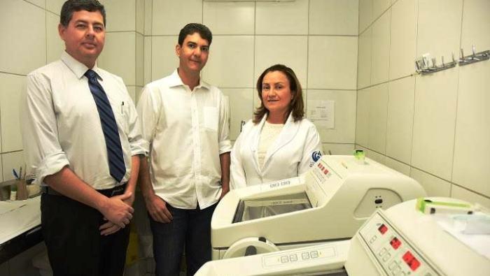 Eduardo Braide com os diretores do Aldenora Belo