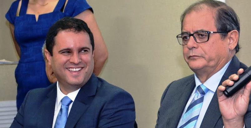 Edivaldo mostrou felicidade com o apoio de Humberto Coutinho