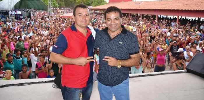 Josimar com Tio Gal: projeto para Maracaçumé