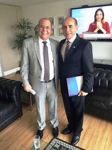 Hildo Rocha com Marcelo Tavares