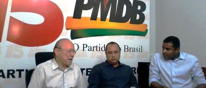 """João Alberto com Roberto Costa e Fábio Câmara: """"tudo contornado"""""""