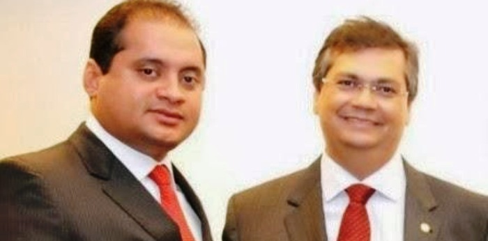 Weverton Rocha e Flávio Dino: o sorriso amarelo se mantém nas fotos... só nas fotos