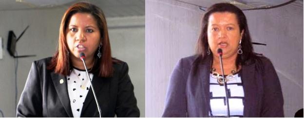 Vereadoras Sônia Brandão (a que mais fala nos áudios) e Sandra do Salomão: trama de achaques