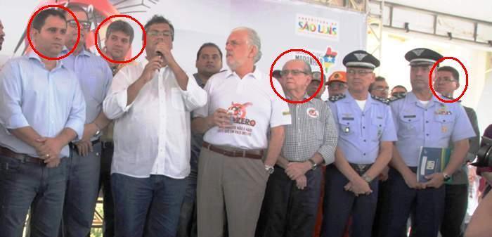 Dino e os seus candidatos a prefeito no blablçablá contra o mosquito; mas o imposto do inseticida ele aumentou