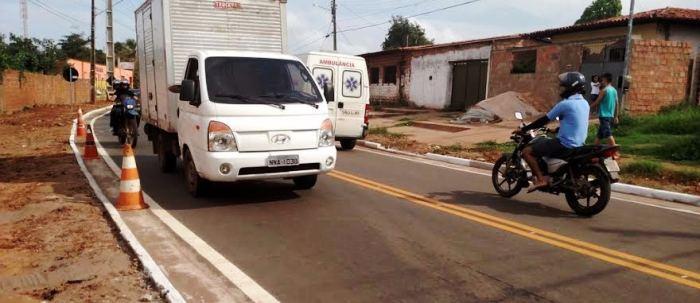Estrada vai facilitar a chegada ao Socorrão II