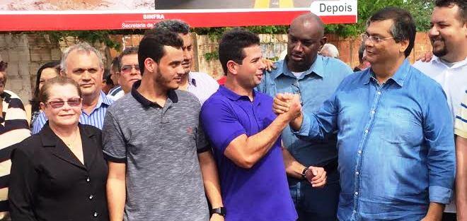Gil Cutrim agradece a ação do governador Flávio Dino