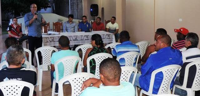 Várias lideranças prestigiaram o encontro
