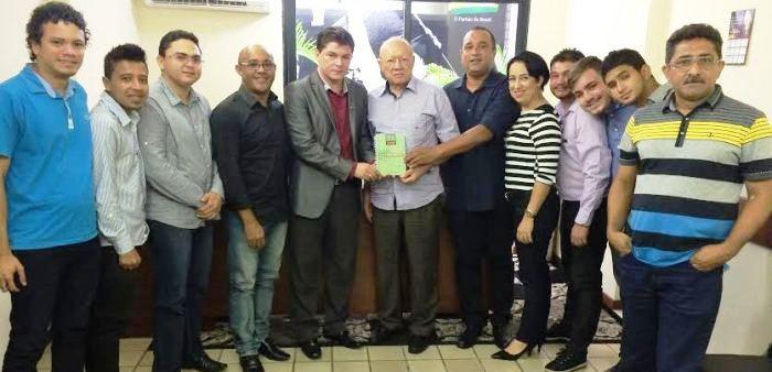 João Alberto com Roberto Costa, Assis Filhos e membros do PMDB