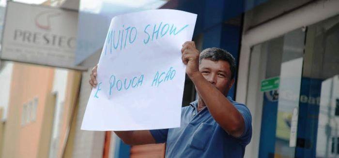 Marco Antonio e seu protesto silencioso: sábia lição de cidadania