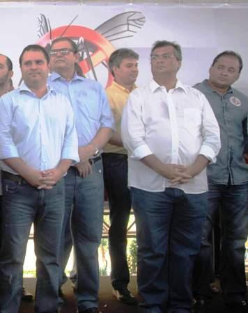 Neto com Flávio, Edivaldo Humberto e Weverton: de volta ao cenárioi