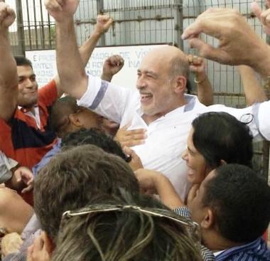 Ribamar Alves deixou a prisão semana passada
