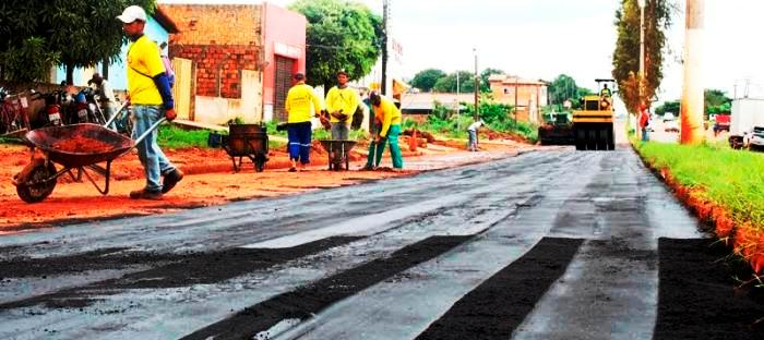 As obras que a prefeitura realiza em lugar do DNIT