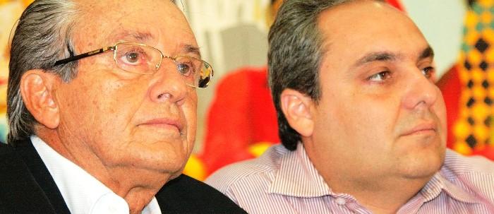 José Reinaldo e Marcelo: Tio já vê decepção. sobrinho ainda sonha no governo comunista