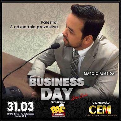 Almeida é palestrante do Bussines Day
