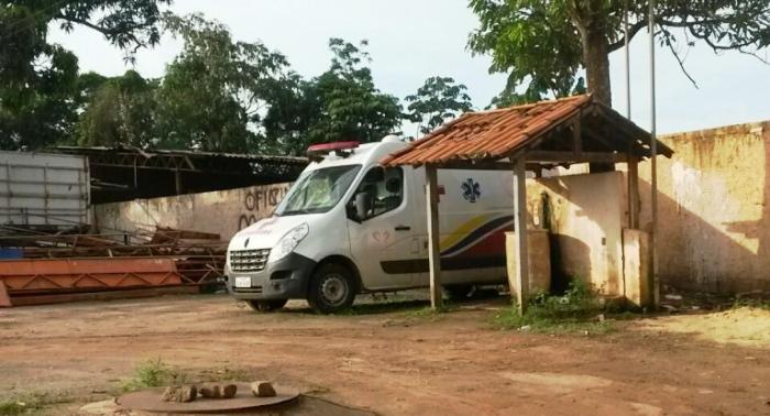 A ambulância abandonada