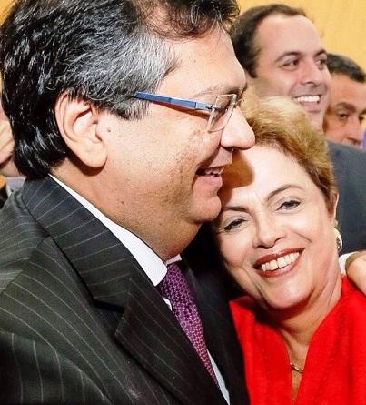 Com Dilma, Dino abre um caminho à esquerda