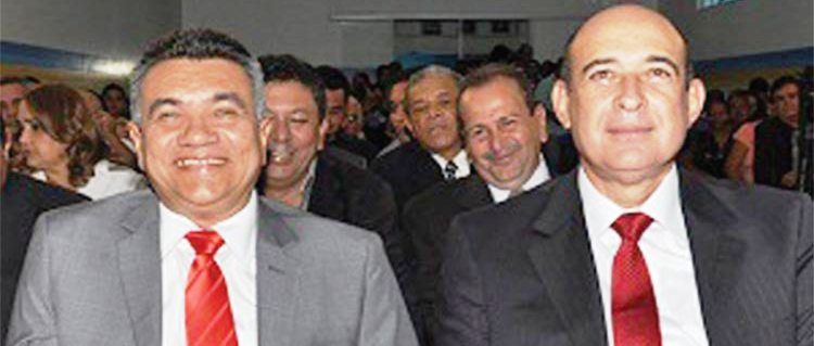 Edinaldo e Ribamar Alves numa guerra entre PT e PSB pelo comando de Santa Inês